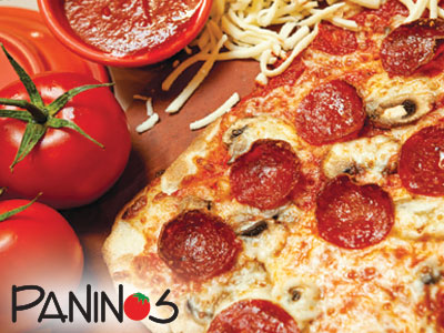 Panino's Pizza & Pasta Restaurant Coupons