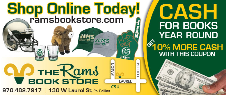 Rams Bookstore Cash for Books