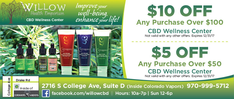 Willow Health Emporium Coupons
