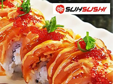 Free California Roll or Soft Drink