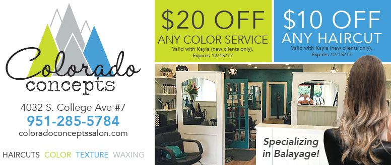 Colorado Concepts Salon - Hair Cut and Color Service Coupons