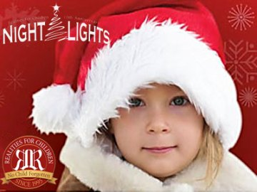 Realities For Children Night Lights Event