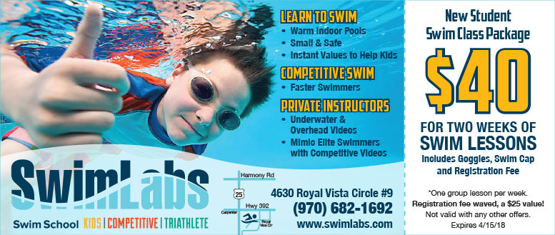 SwimLabs Swim Lessons Coupon