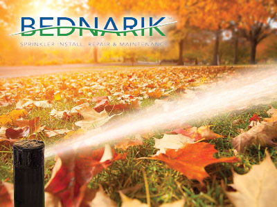 Bednarik Sprinkler Blowout, Install, Repair & Maintenance