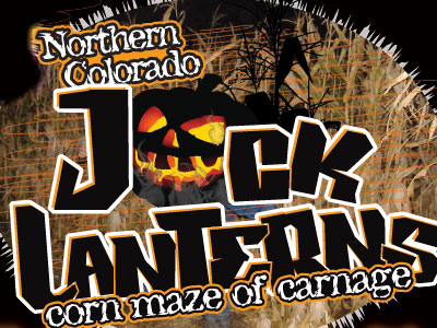 Jack Lanterns Corn Maze of Carnage in Fort Collins