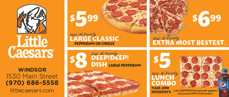 Pizza classics coupons