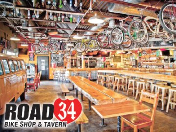 Road 34 Bike Shop & Tavern Coupons in Fort Collins
