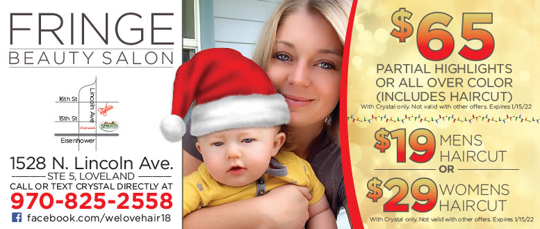 Fringe Beauty Salon by Crystal Collins Haircut and Pedicure Coupon Deals