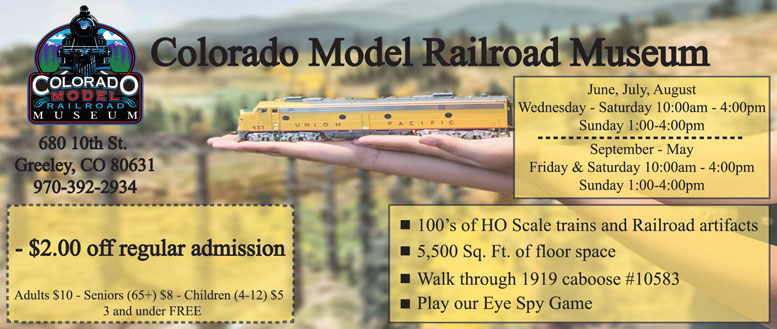 Treat yourself to huge savings with Colorado Railroad Museum Promo Code: 9 deals for October 12222.