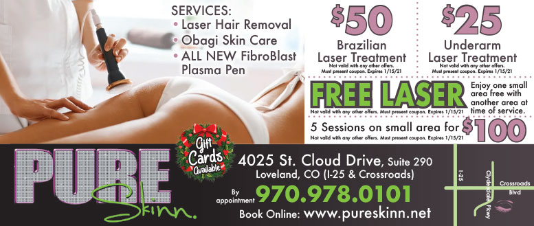 Pure Skinn Laser Spa Coupon Deals - BOGO Laser Treatments