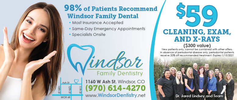 Windsor Family Dentistry Coupons - $59 Cleaning, Exam & X-rays