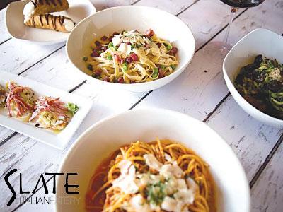 Slate Italian Eatery in Loveland, CO