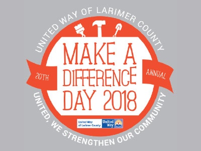United Way of Larimer County Make a Difference Day 2018