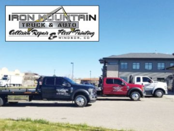 Iron Mountain Truck & Auto Collision Repair & Towing in Windsor, CO