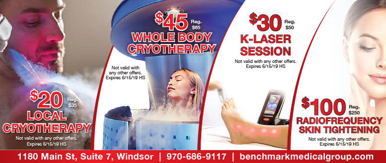 BenchMark Medical Group - Cryotherapy, K-Laser & Radio-frequency Skin Tightening Coupon Deals
