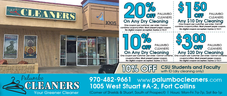 Palumbo Dry Cleaners Coupons - 10% Off Dry Cleaning
