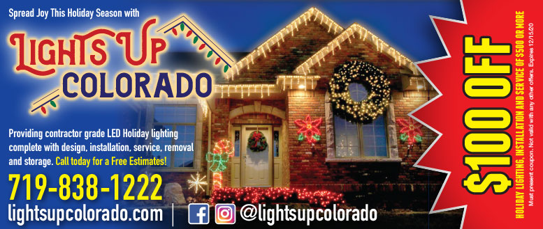 Lights Up Colorado in Fort Collins - $100 Off Holiday Lighting Installation