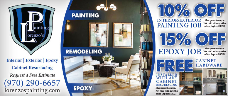 Lorenzo's Painting, Northern Colorado - House Painting & Epoxy Coupon Deals