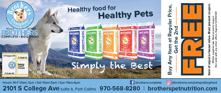 Brothers Pet Food Complete Dog Food coupon deals