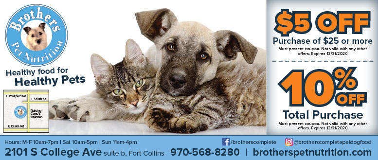 Brothers Pet Food Complete - Healthy Food Coupon Deals