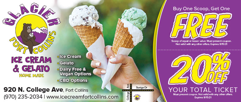 Glacier Ice Cream & Gelato, Fort Collins Coupon Deals