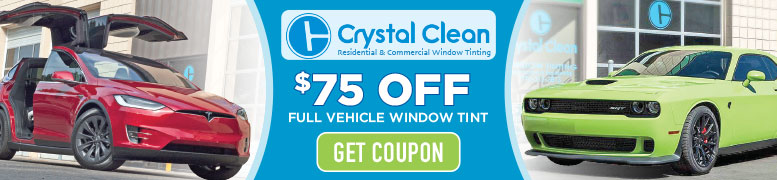 Get $75 Coupon for Window Tinting