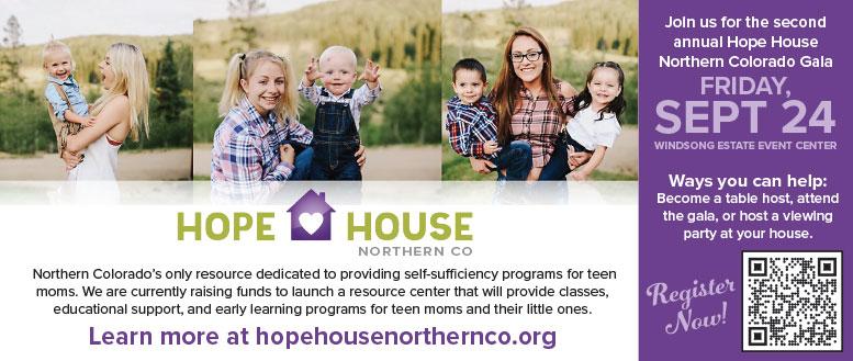 Hope House, Northern, CO Gala   September 24, 2021