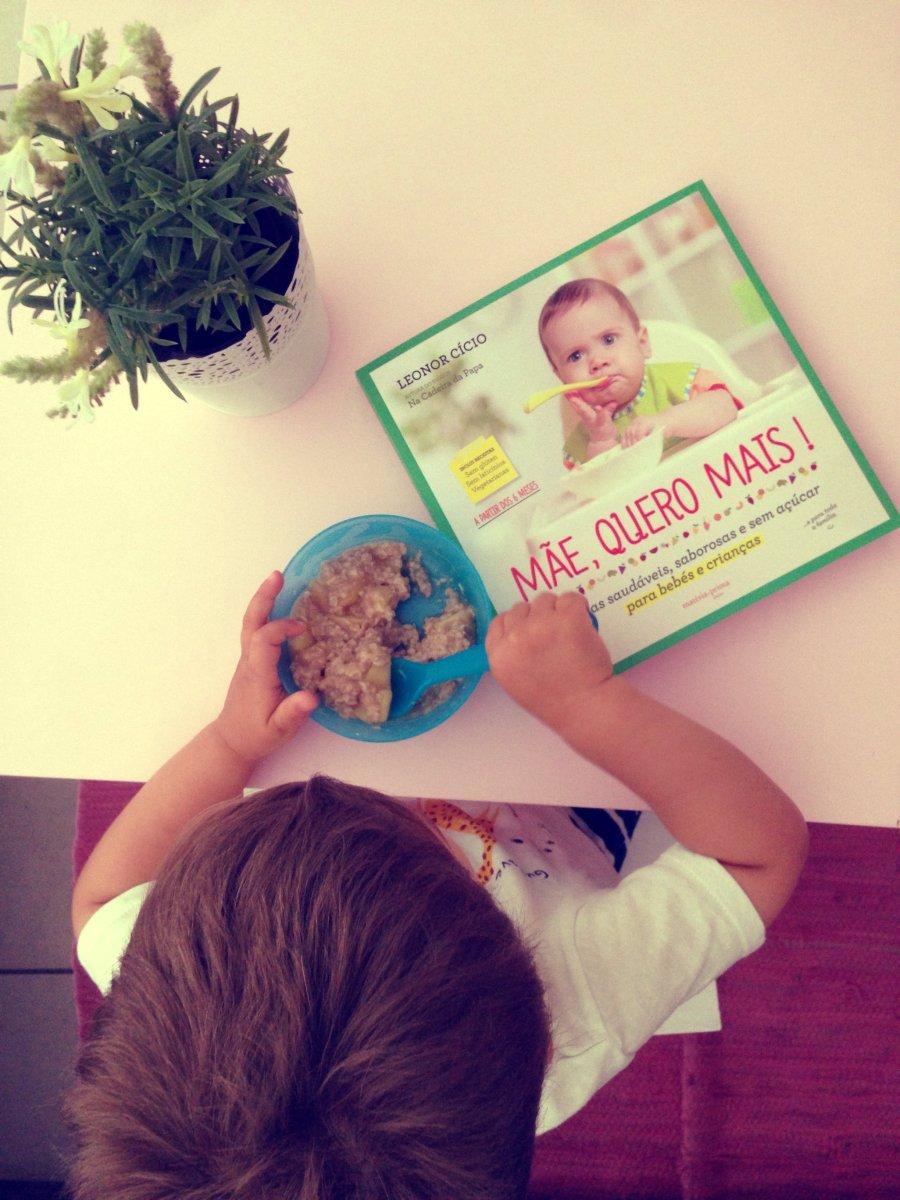 Livros lá de Casa #3 - Mãe, quero mais (Leonor Cício)