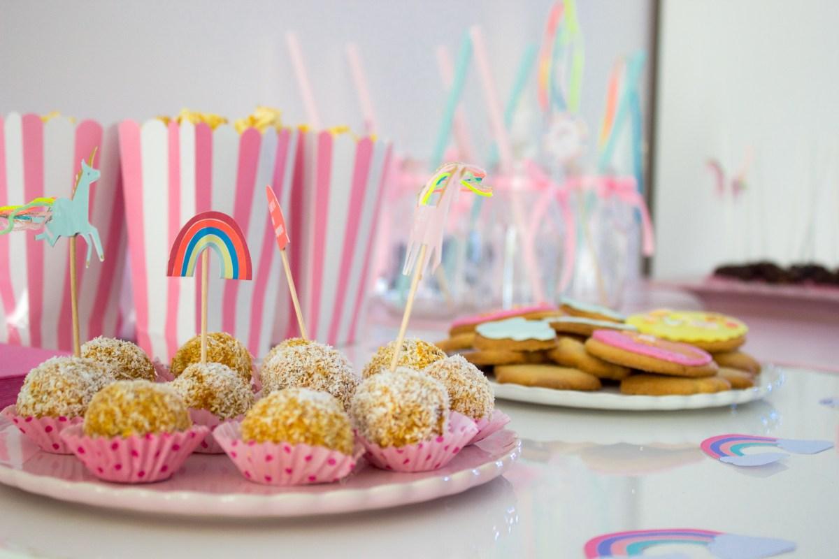 Festa de Aniversário da Laurinha - Parte II (a comida)