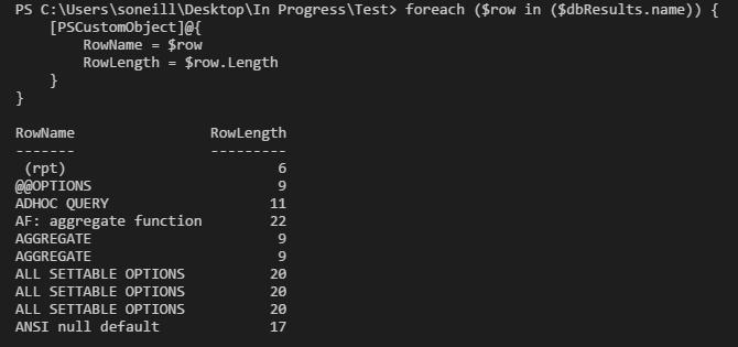 Transact-SQL to Powershell: Substring