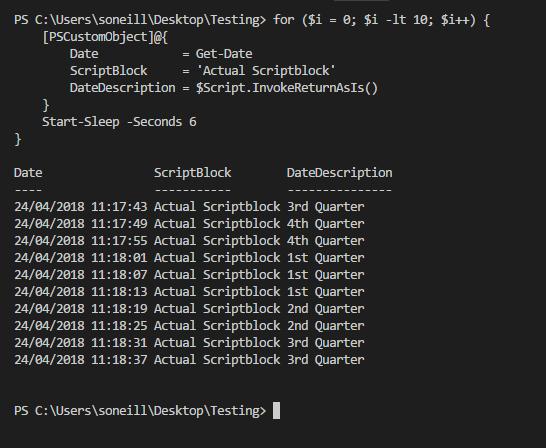Using Scriptblocks in PSCustomObjects