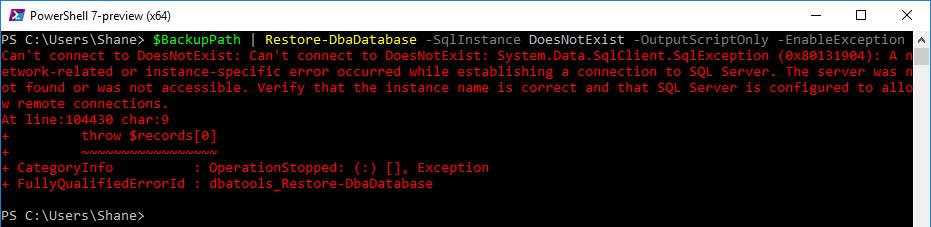 Hiding Warnings in dbatools.