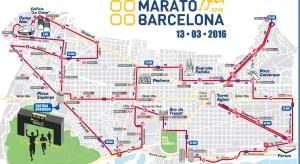 recorrido marato barcelona