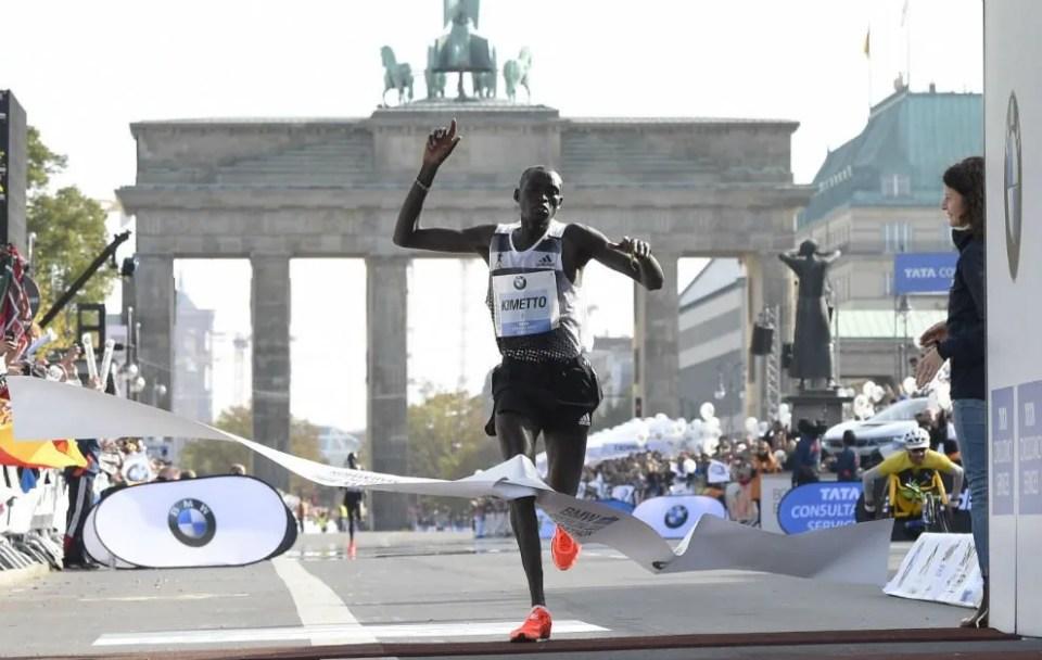 dennis kimetto reyes del maraton
