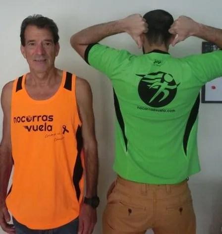 camisetas que corren contra el cáncer