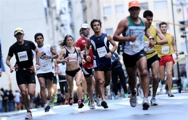 preparación de un maratón