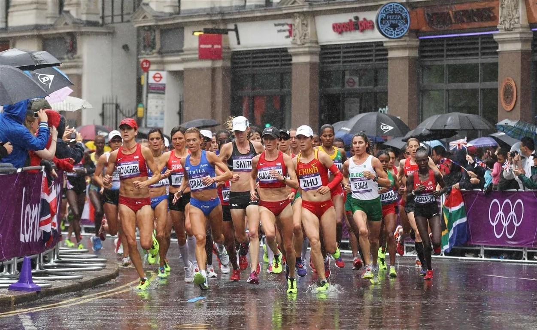 los maratonianos