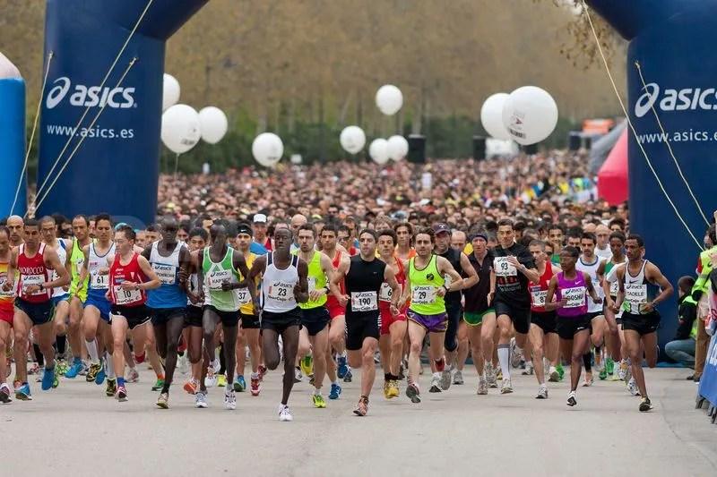 kilometros semanales para un maratón