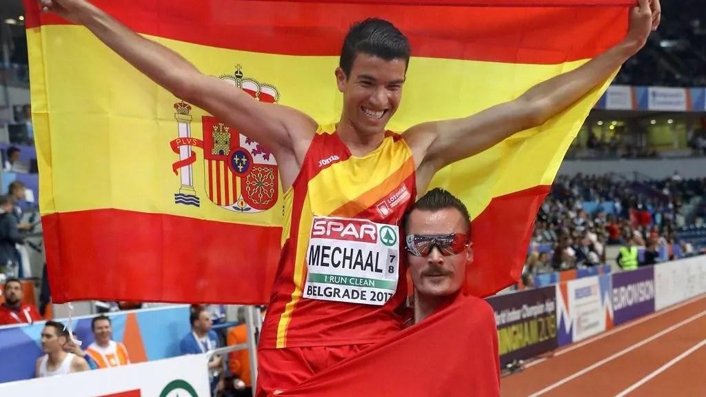 europeo de pista de atletismo adel mechaal