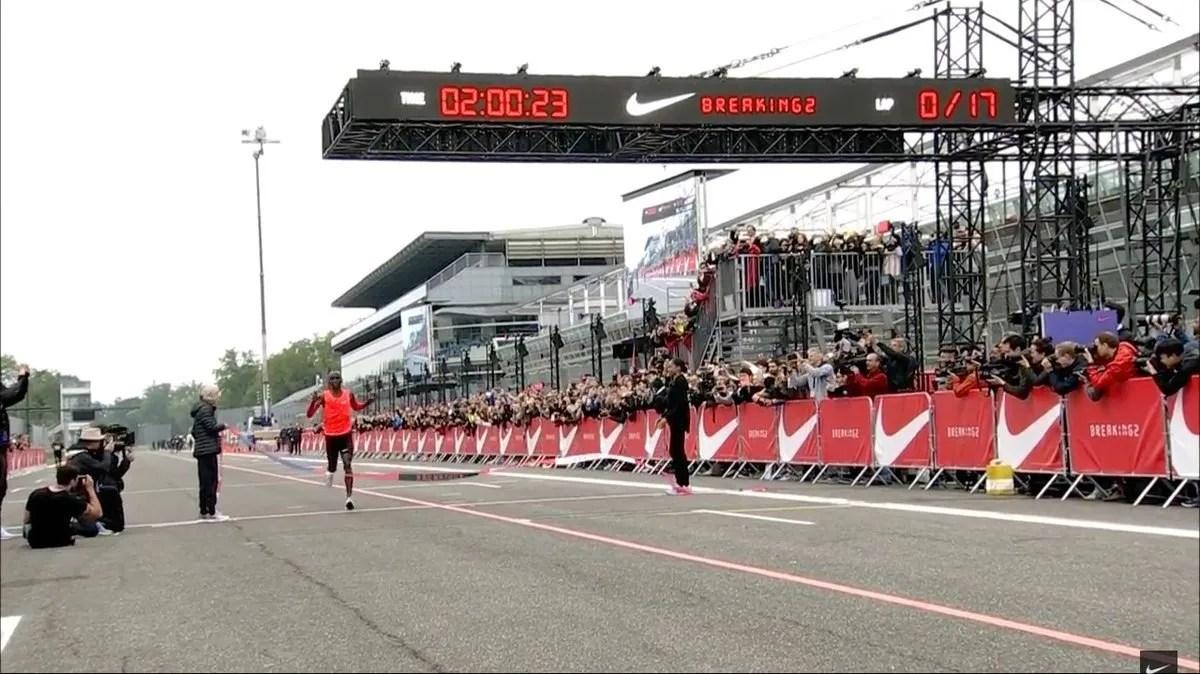kipchoge ha corrido un maratón