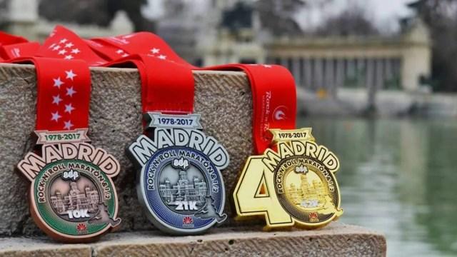 medallas de finisher