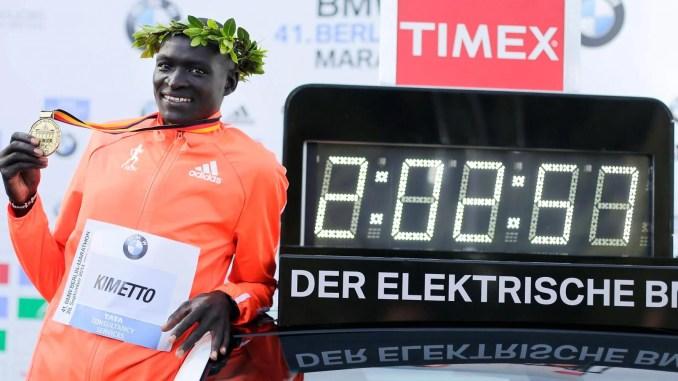 batir el récord del mundo de maratón