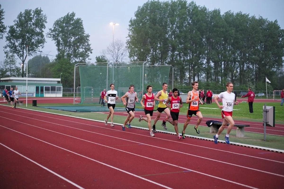 correr distancias más cortas