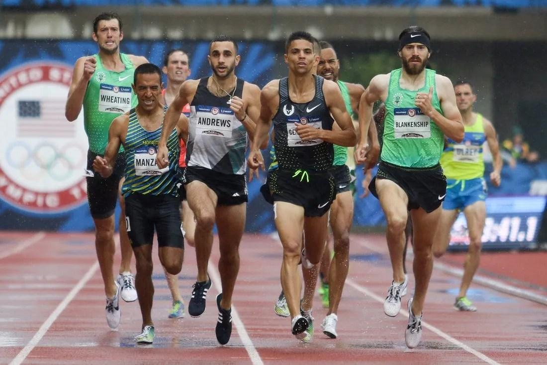 entrenamiento para 1500 metros
