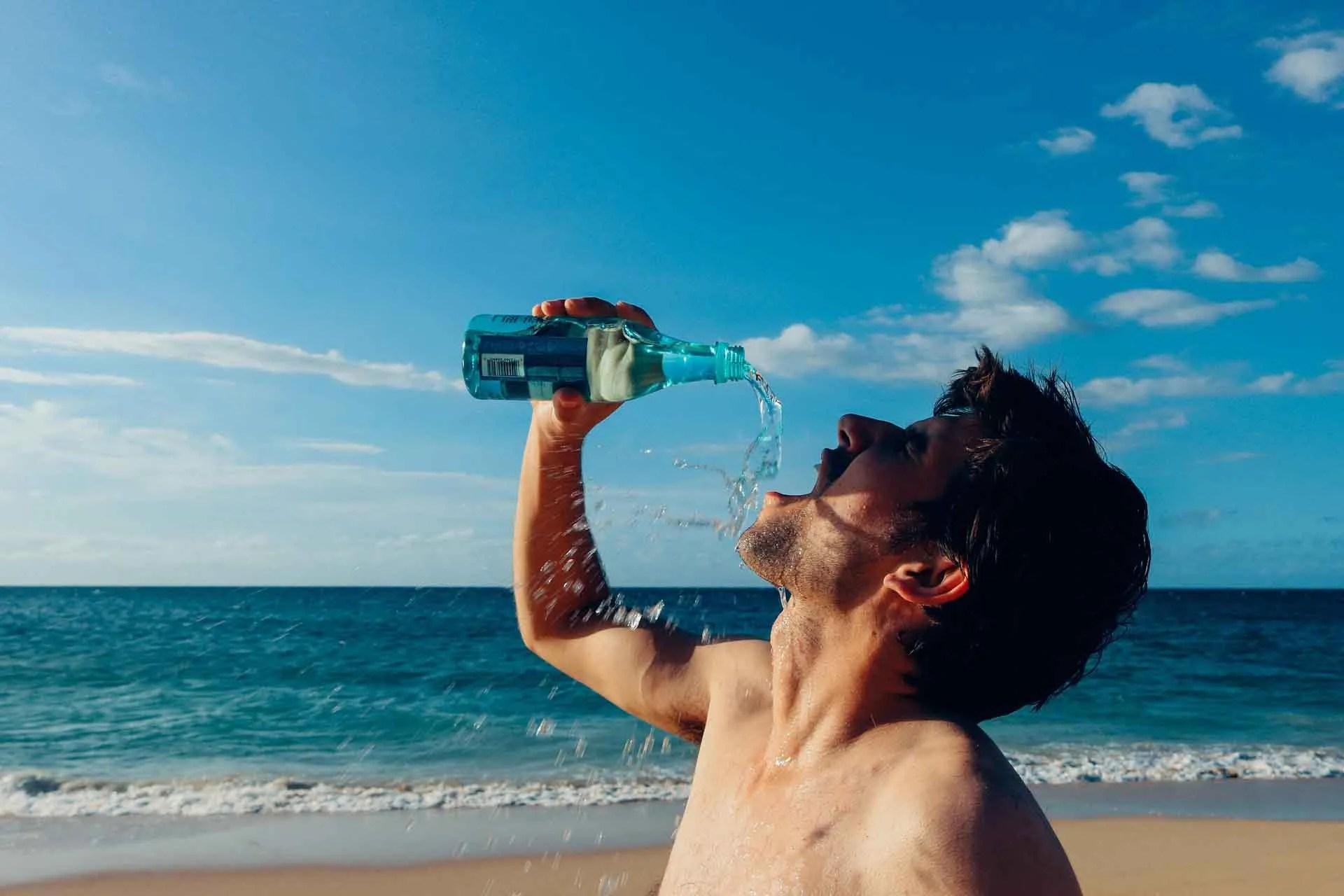 hidratarte bien en verano si eres corredor