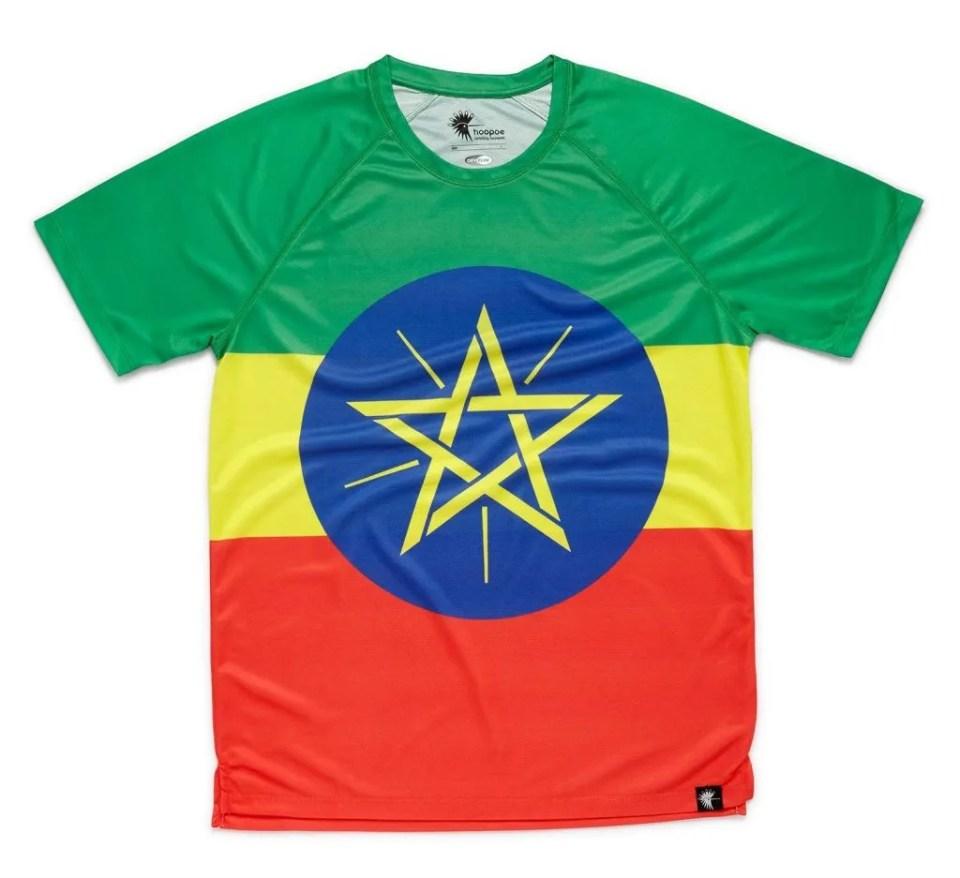 camisetas para corredores etiopia