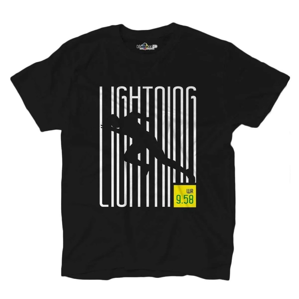 camisetas para corredores usain bolt