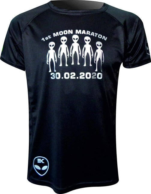 camisetas para corredores maraton lunar