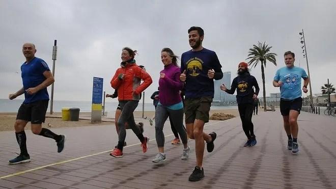 correr engrupo en barcelona covid 19