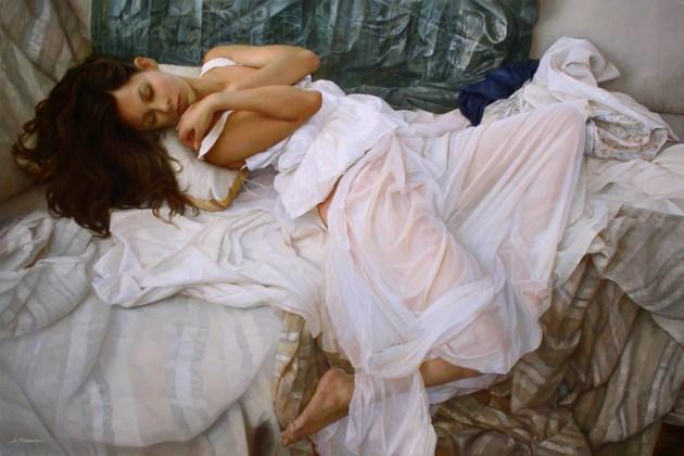 Sesja zdjęciowa w prezencie - obraz w ramach inspiracji do sesji romantycznej - Serge Marshennikov